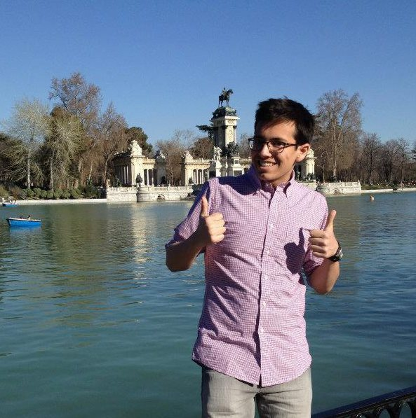 being a dork in Madrid