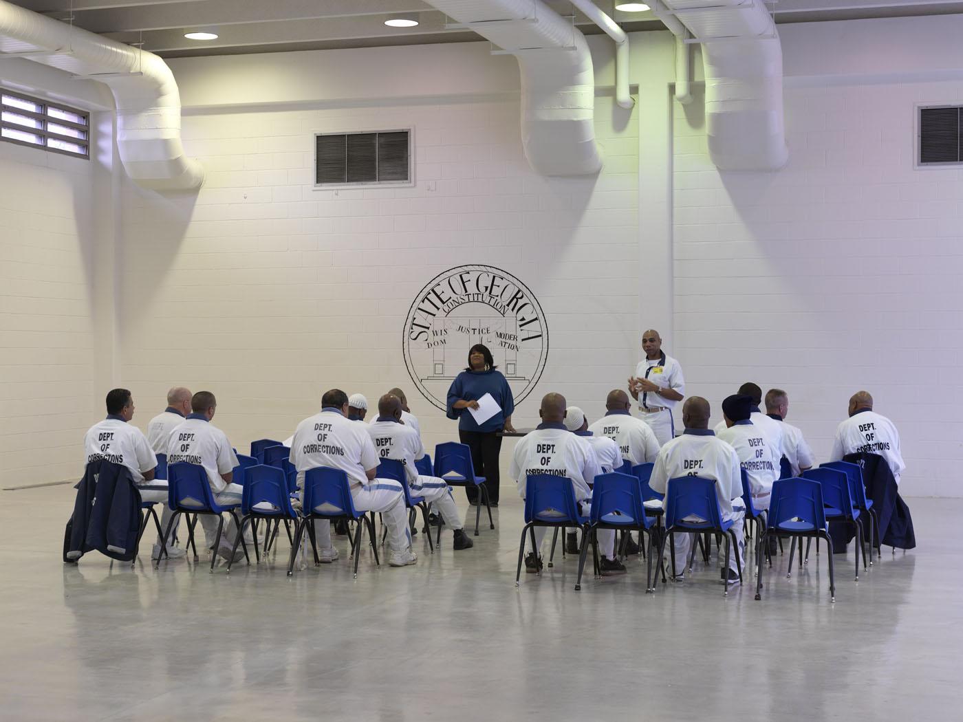 Georgia state prison lifers' meeting