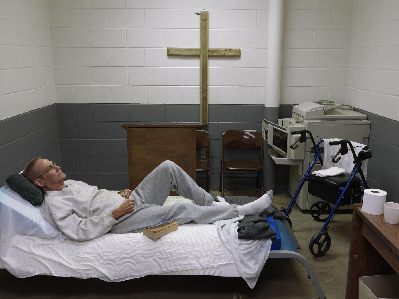 Putnam County jail in Eatonton, Georgia
