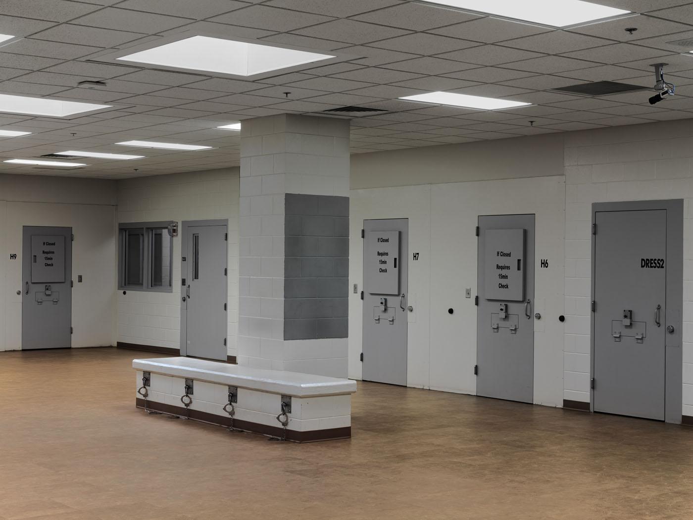 US prison, interior