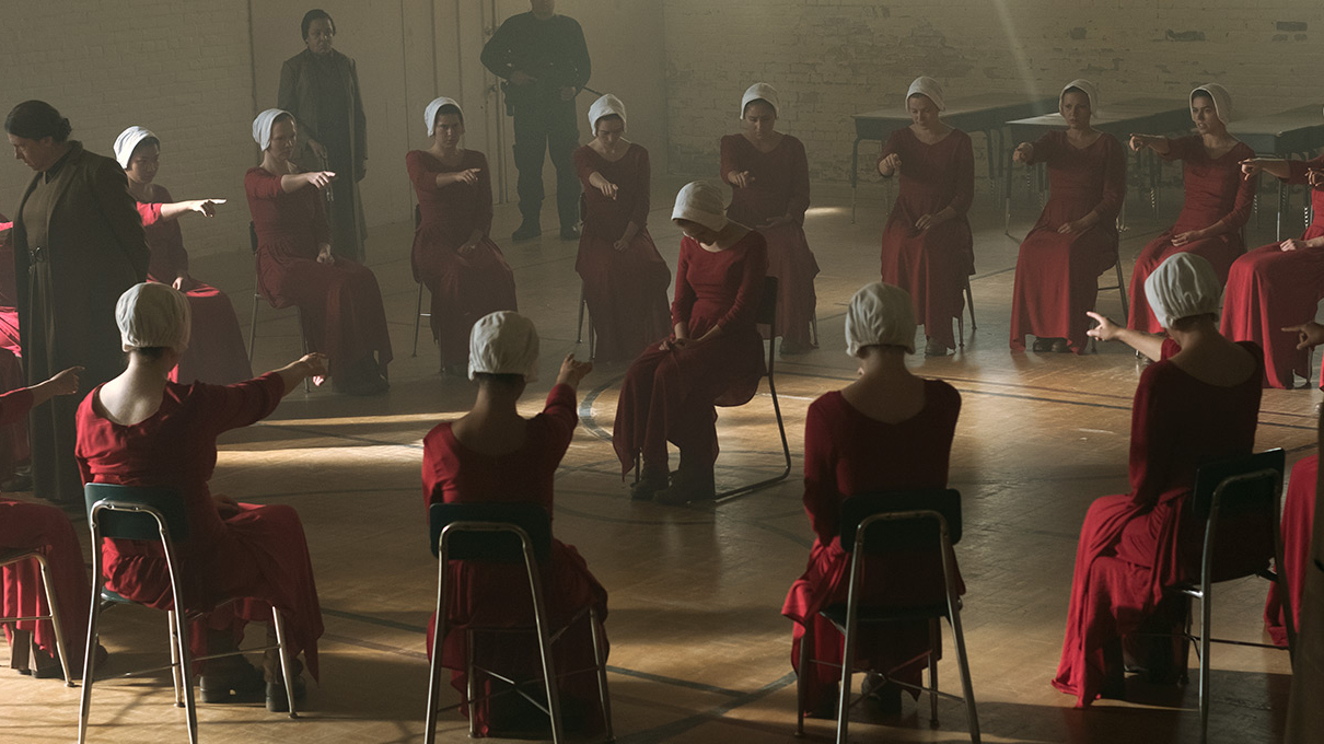 gender and power handmaids tale Part of the literature in english, north america commons, and the women's  studies commons  handmaid's tale itself an example of dystopian fiction  focusing on physical  society by a power elite using technology to impose a  frightening.
