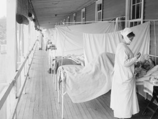 Influenza epidemic of 1918