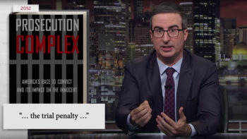 Prosecutors, John Oliver, and Criminal Justice Reform