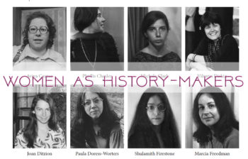 Women as History-Makers: From Hanukkah to the Present