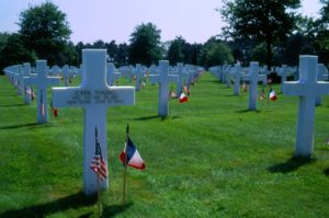 American Cemetery in Colleville-sur-Mer, Normandy, photo used with permission from Ralph Young